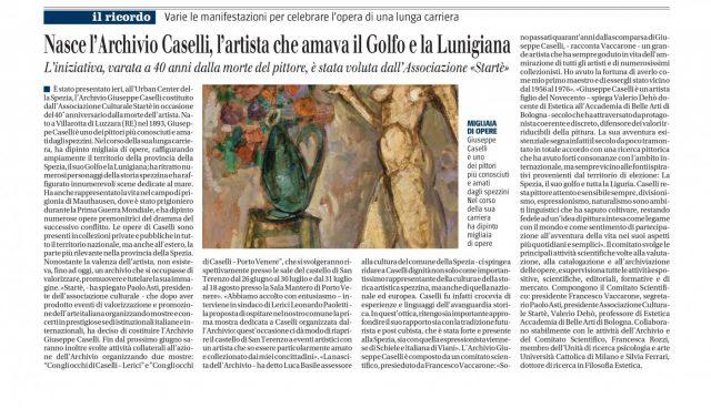 Il Giornale edizione della Liguria domenica 29 maggio 2016